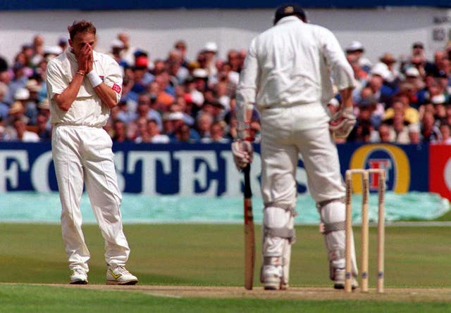 Allan Donald was frustrated by England at the Wanderers