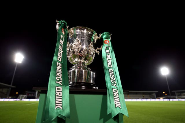 The Carabao Cup reaches the quarter-final stage this week