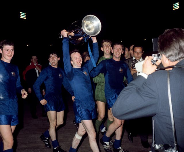 Stiles won the European Cup in 1968 with Manchester United