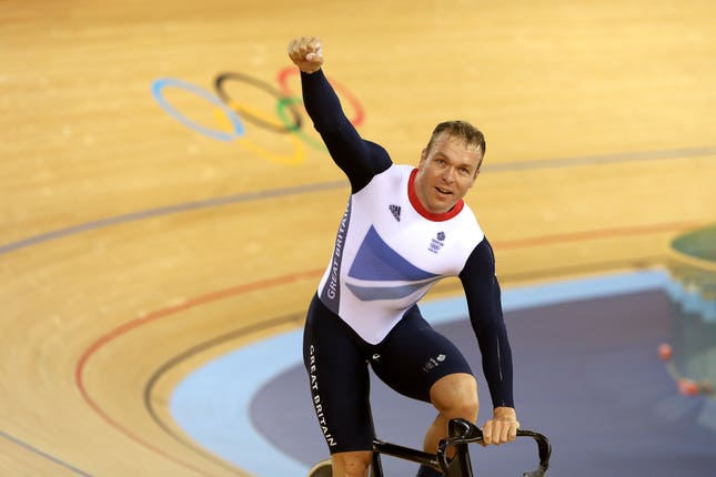 Hoy wins another Olympic gold medal at London 2012
