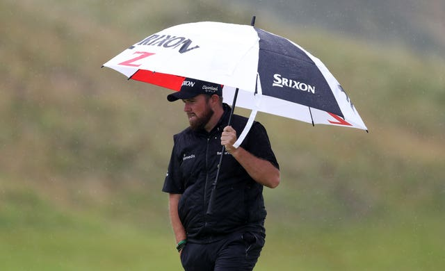 Shane Lowry had to endure difficult conditions on Sunday