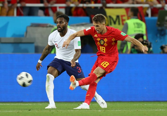 Adnan Januzaj's fine finish saw England lose to Belgium in their 2018 World Cup group match.