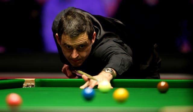 Ronnie O'Sullivan is the favourite in Sheffield