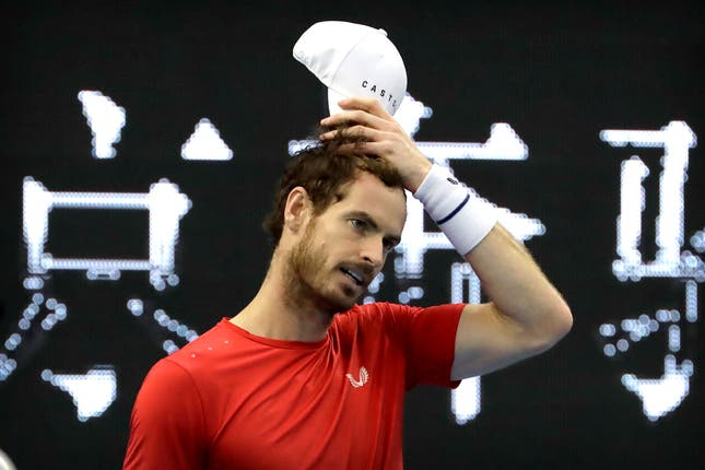 Murray bounced back after a slow start against Londero (AP Photo/Mark Schiefelbein).