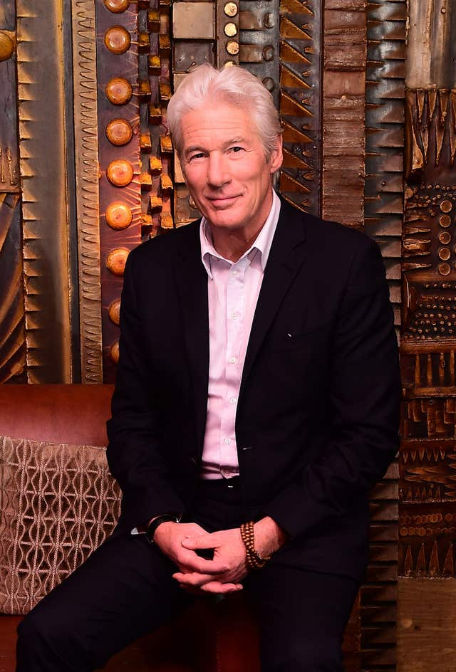 BBC drama MotherFatherSon is Richard Gere's first TV work for almost 30 years.
