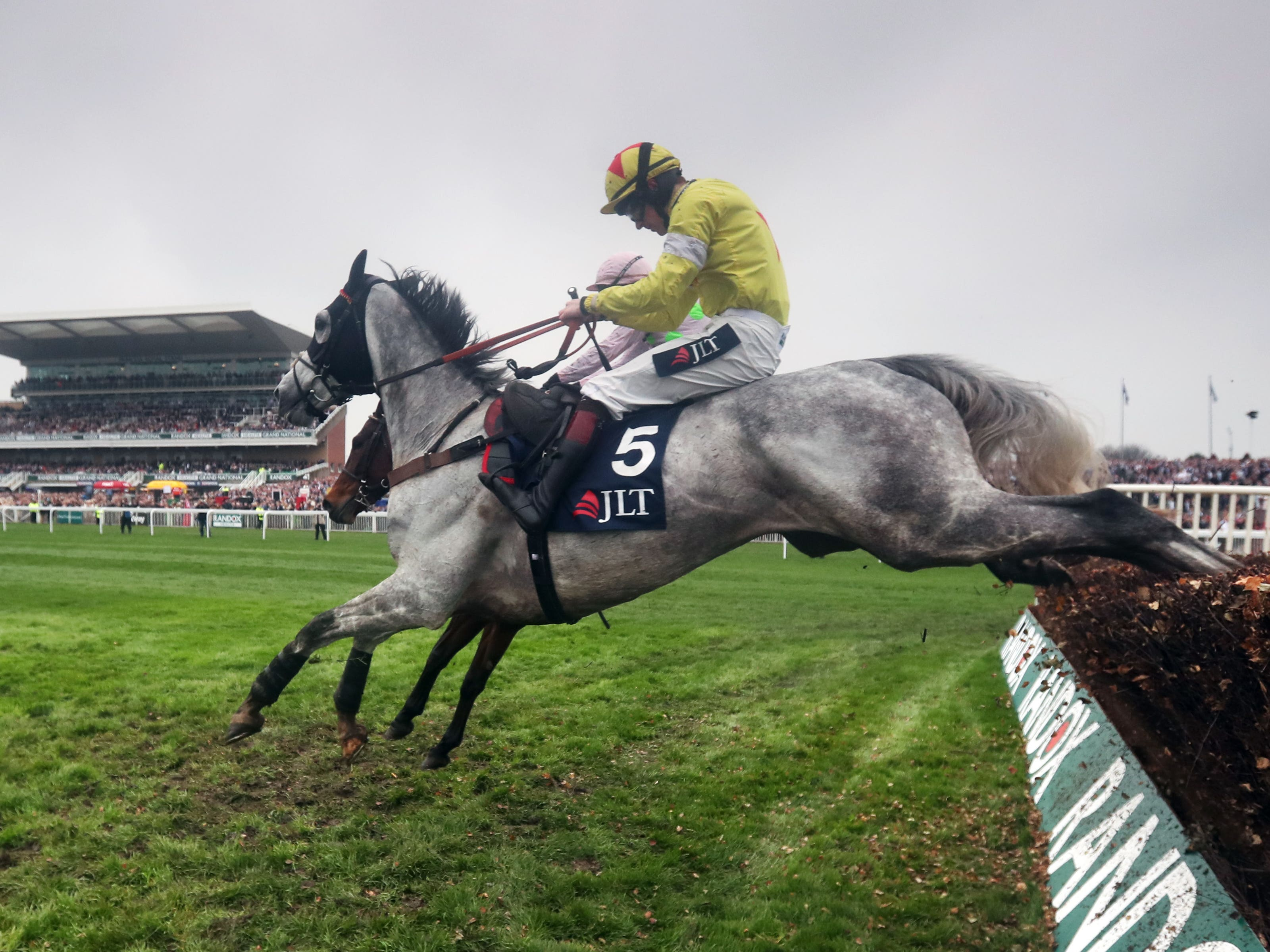 Politologue aiming for another Aintree win (David Davies/PA)