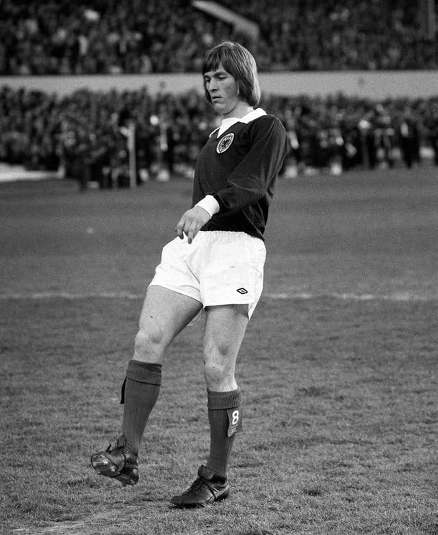 Kenny Dalglish playing for Celtic