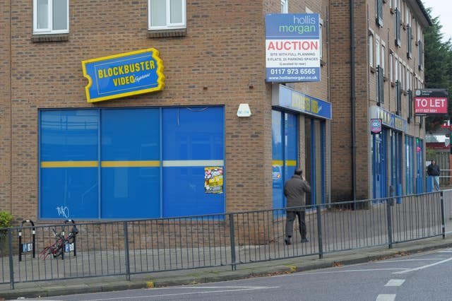 Blockbuster collapsed into administration in 2013
