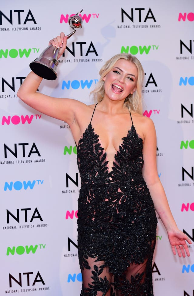 National Television Awards 2018 – Press Room – London
