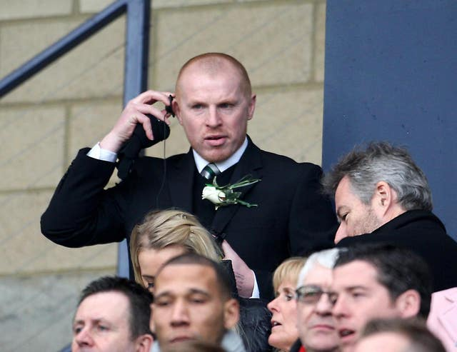 Lennon has been targeted in the stands as well as on the touchline