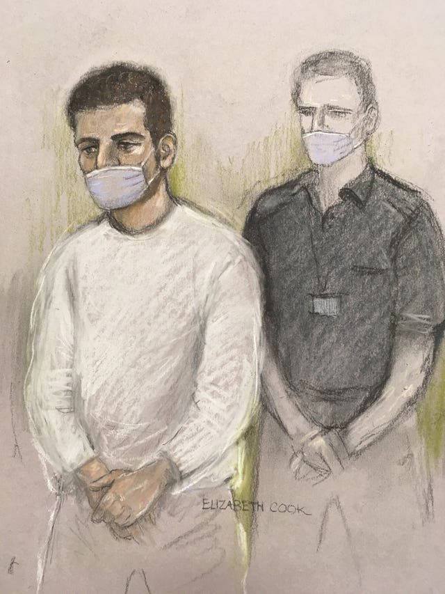 Khairi Saadallah in court
