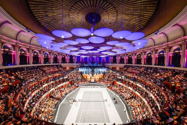 Tim Henman will play in the Champions Tennis event at the Royal Albert Hall