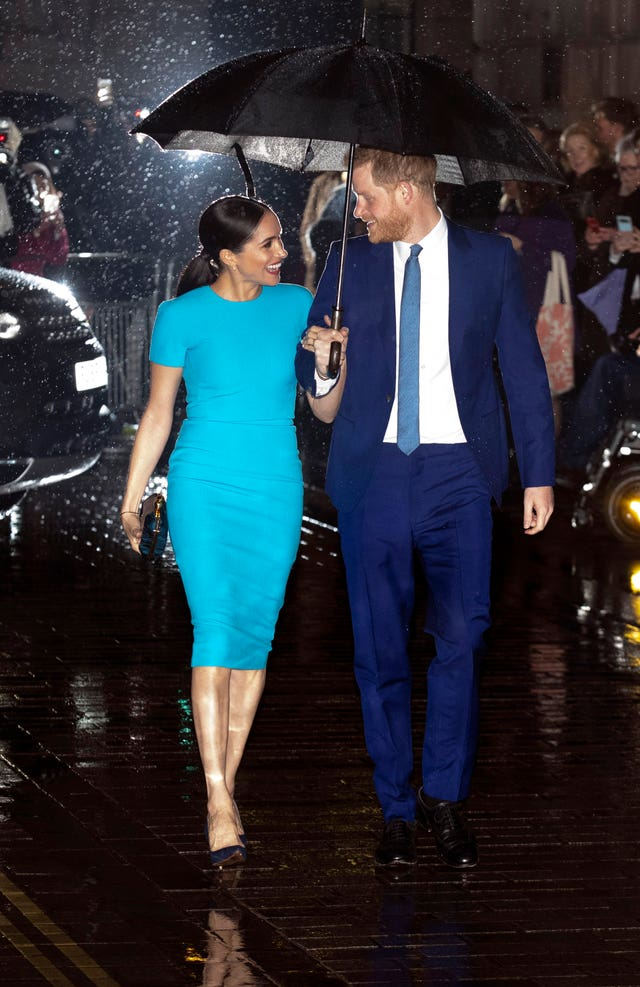 The Duchess of Sussex's royal life in pictures