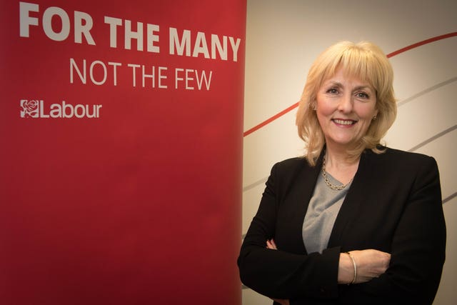 Ms Formby has been a Labour party member for 40 years (Stefan Rousseau/PA)
