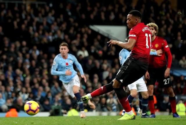 Martial's penalty gave United hope