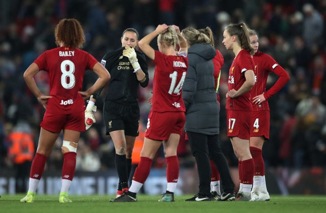 A mistake from Liverpool Women's goalkeeper Anke Preuss cost her side as Everton won the derby at Anfield 1-0