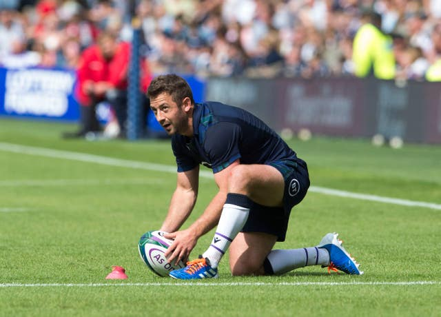 Greig Laidlaw kicked two conversions and a penalty