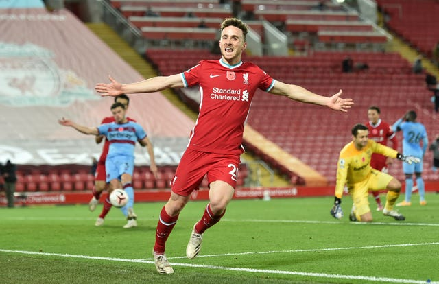 Diogo Jota has quickly got up to speed at Liverpool