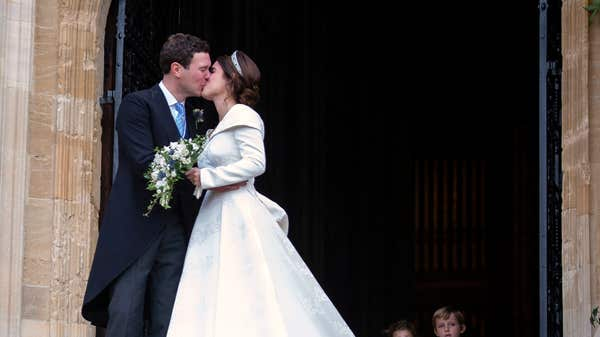 Princess Eugenie and husband 'living at Frogmore Cottage'