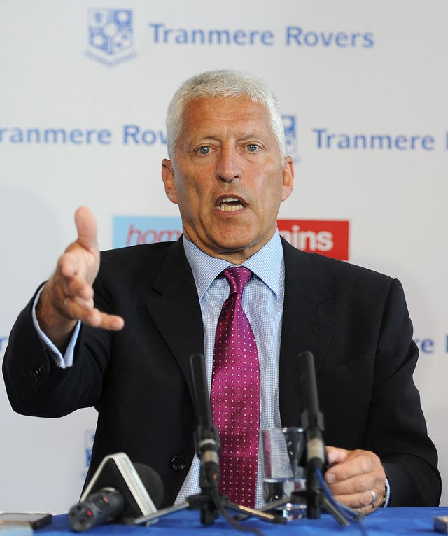 Tranmere chairman Mark Palios does not believe relegation can be settled using the points-per-game system