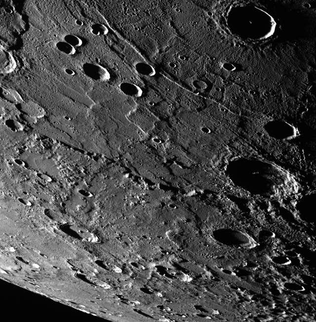 Mercury taken by Nasa's Messenger spacecraft