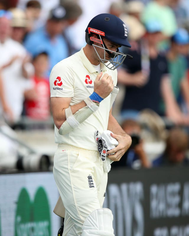 James Anderson could be called upon to produce another battling Ashes batting performance