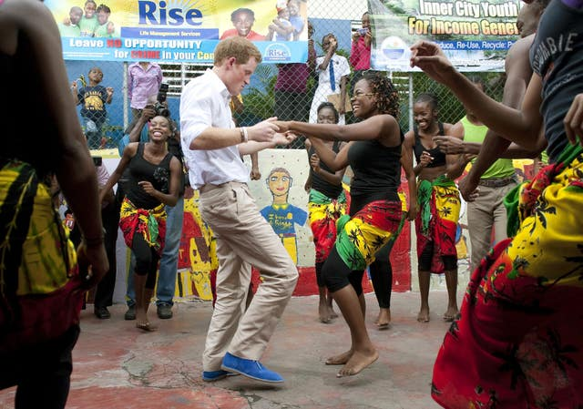 Prince Harry's visit to Jamaica