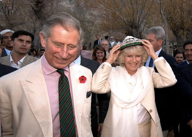 Charles and Camilla in Pakistan
