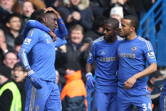 Demba Ba (left) then scored the only goal as Chelsea won the replay 1-0