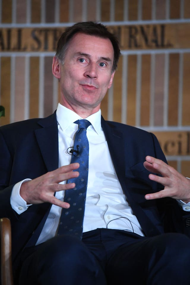 Foreign Secretary Jeremy Hunt has made subtle hints at a leadership bid