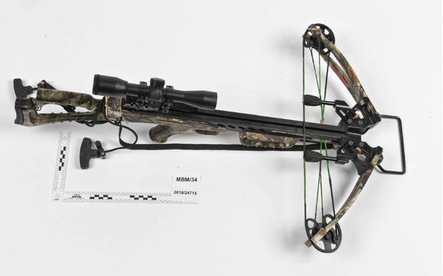 One of the crossbows owned by Ramanodge Unmathallegadoo