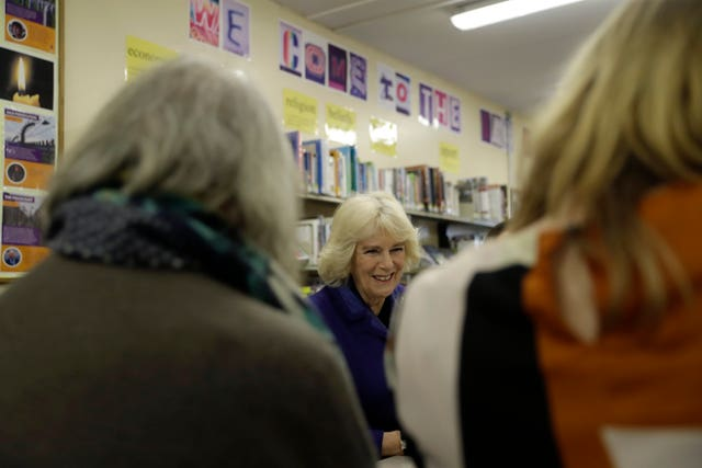 Duchess of Cornwall visits Surrey