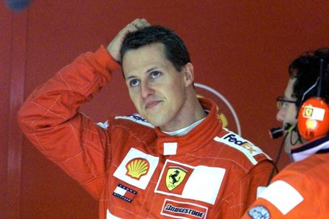Michael Schumacher won seven drivers' titles