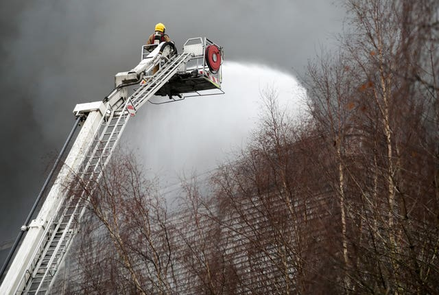 Ocado warehouse fire