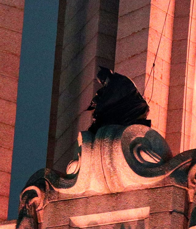 Batman filming – Liverpool