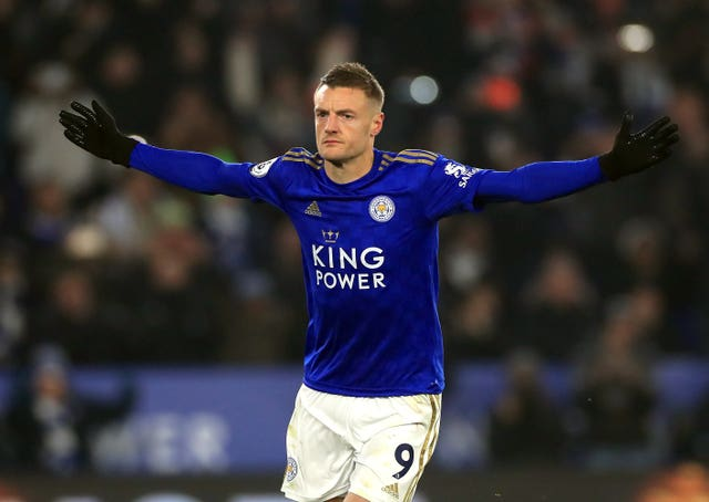 Leicester striker Jamie Vardy is an inspiration to Anderson.