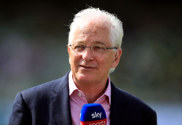 David Gower is commentating on his final match for Sky Sports