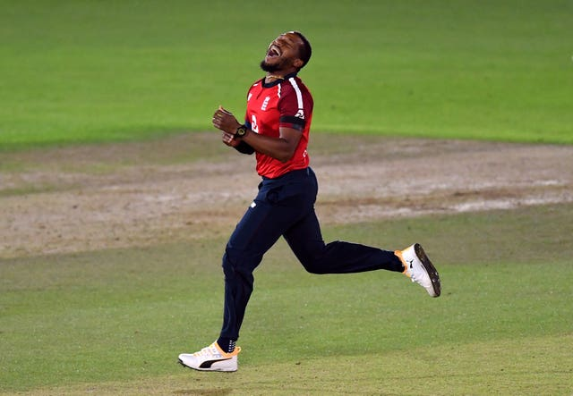 Chris Jordan played a key role with bat and ball