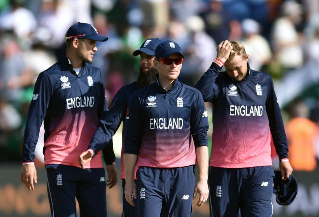 England dejected