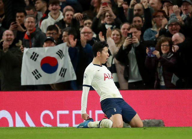 Son Heung-min was on the scoresheet as Tottenham beat Manchester City.