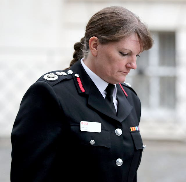 London Fire Brigade Commissioner retires
