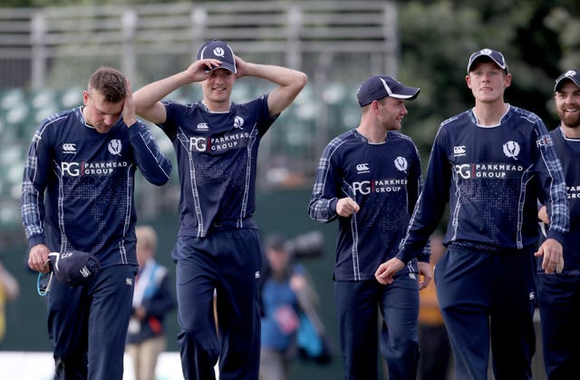Scotland were due to play in a Cricket World Cup qualifying event on home soil next month