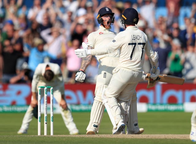 Leach and Stokes guided England to an incredible win at Headingley