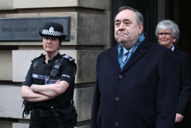 Alex Salmond court case