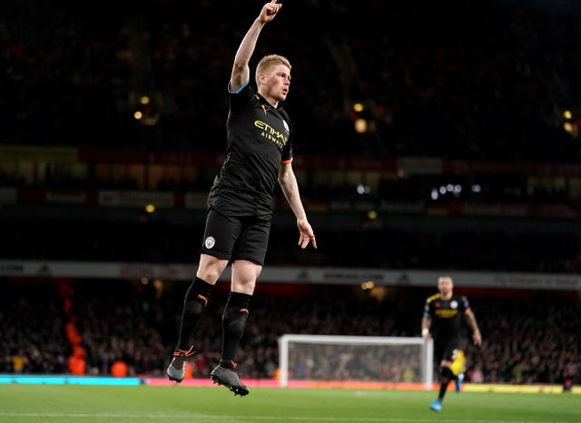 Kevin De Bruyne produced a superb display for City