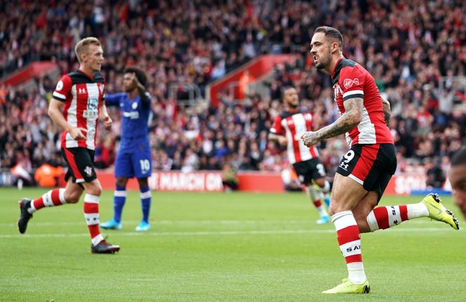 Danny Ings pulled a goal back for Southampton