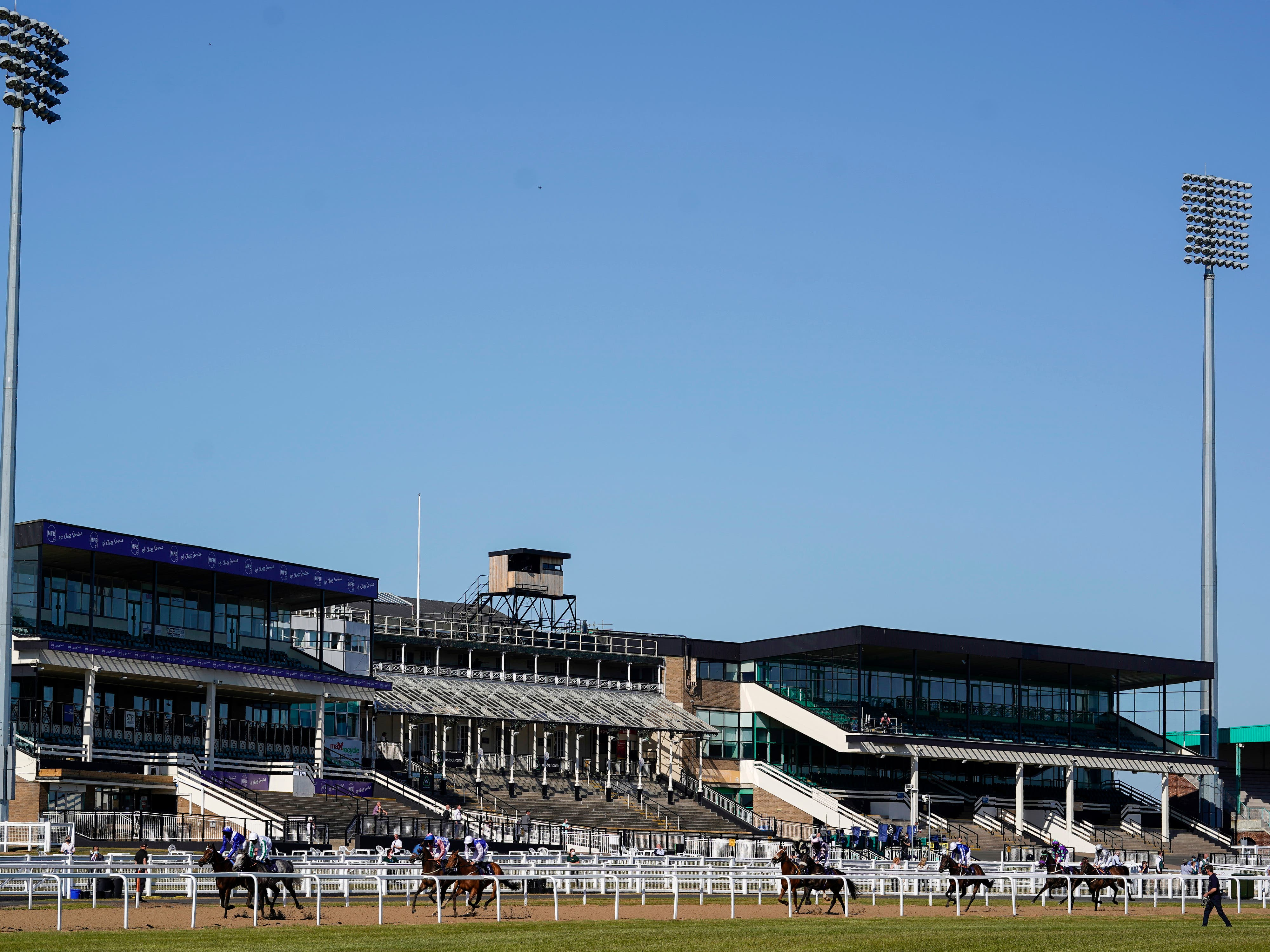 A general view of Newcastle racecourse (Alan Crowhurst/PA)
