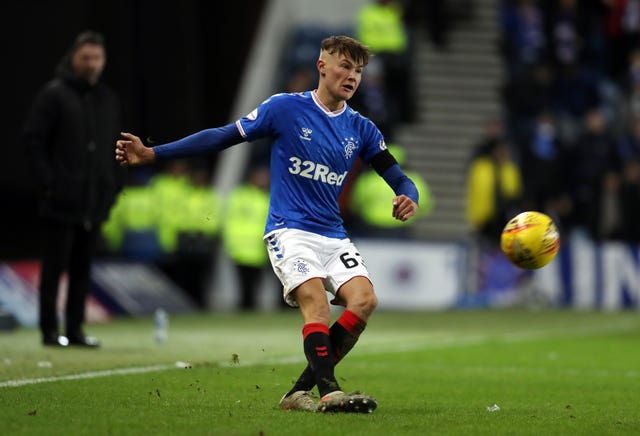 Nathan Patterson impressed for Rangers