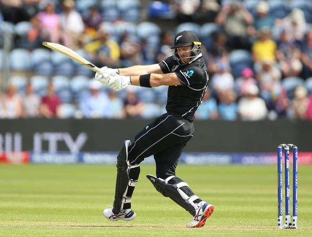 Martin Guptill opened the batting for New Zealand