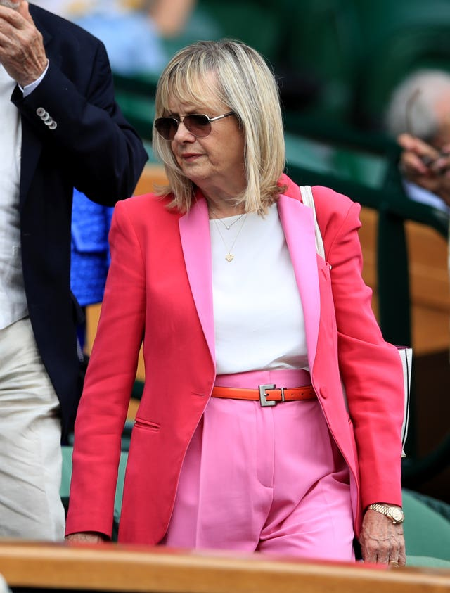 Twiggy at Wimbledon 2019 – Day Nine – The All England Lawn Tennis and Croquet Club